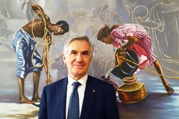 L'imprenditore veronese Silvano Pedrollo