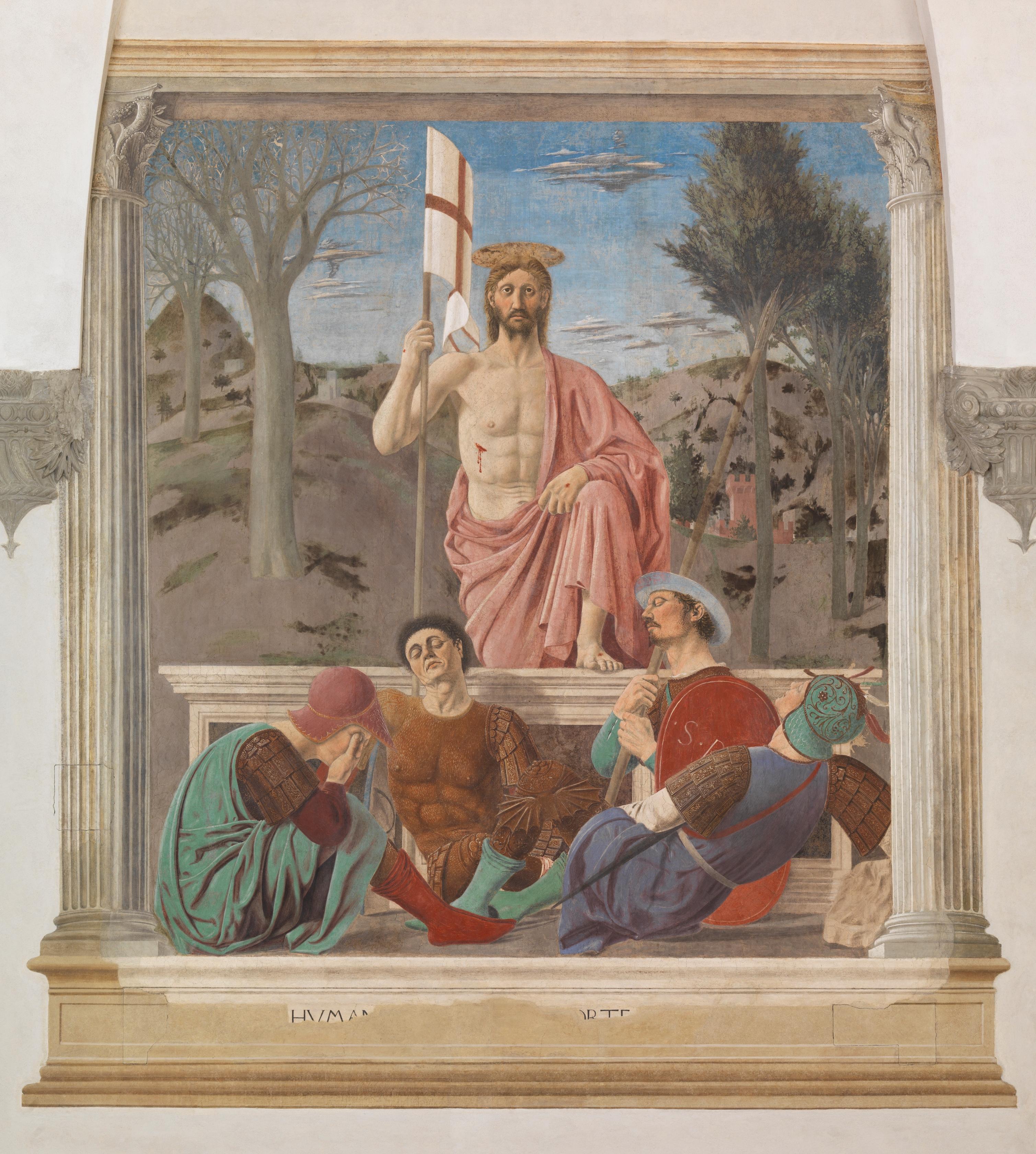 La Resurrezione di Piero della Francesca a Sansepolcro dopo il restauro