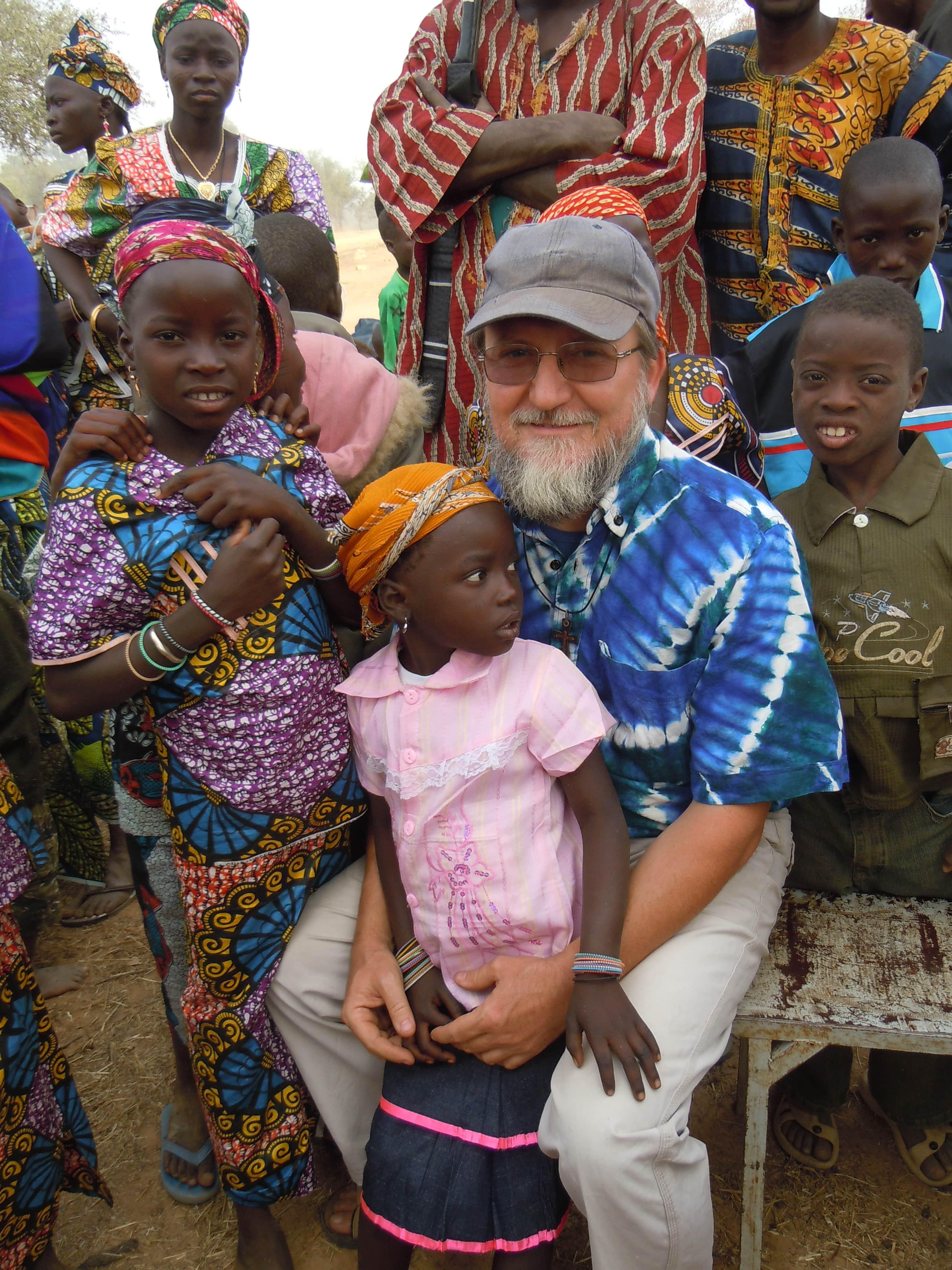Padre Pierluigi Maccalli (Foto per gentile concessione di Società Missioni Africane ' Mesì Mesì Onlus)