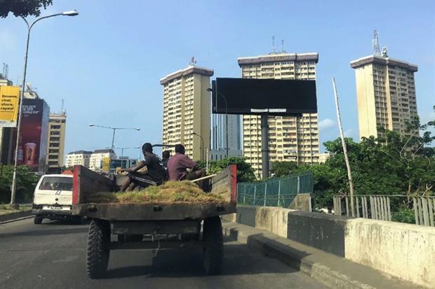 Una via di Lagos