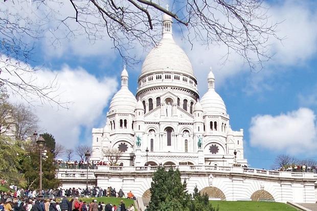 La Basilica del Sacro Cuore a Parigi