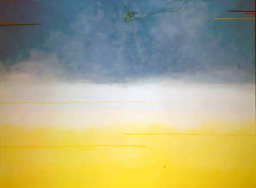 Valentino Vago 'VE. 92' (1993), olio su tela (Archivio Vago)