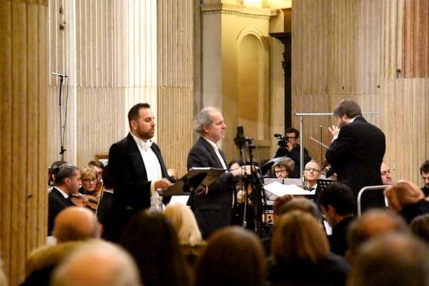 Un'immagine del concerto a Mantova (Gianni Bellesia)
