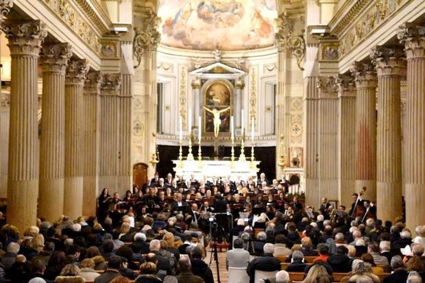 Un'altra immagine del concerto a Mantova (Gianni Bellesia)