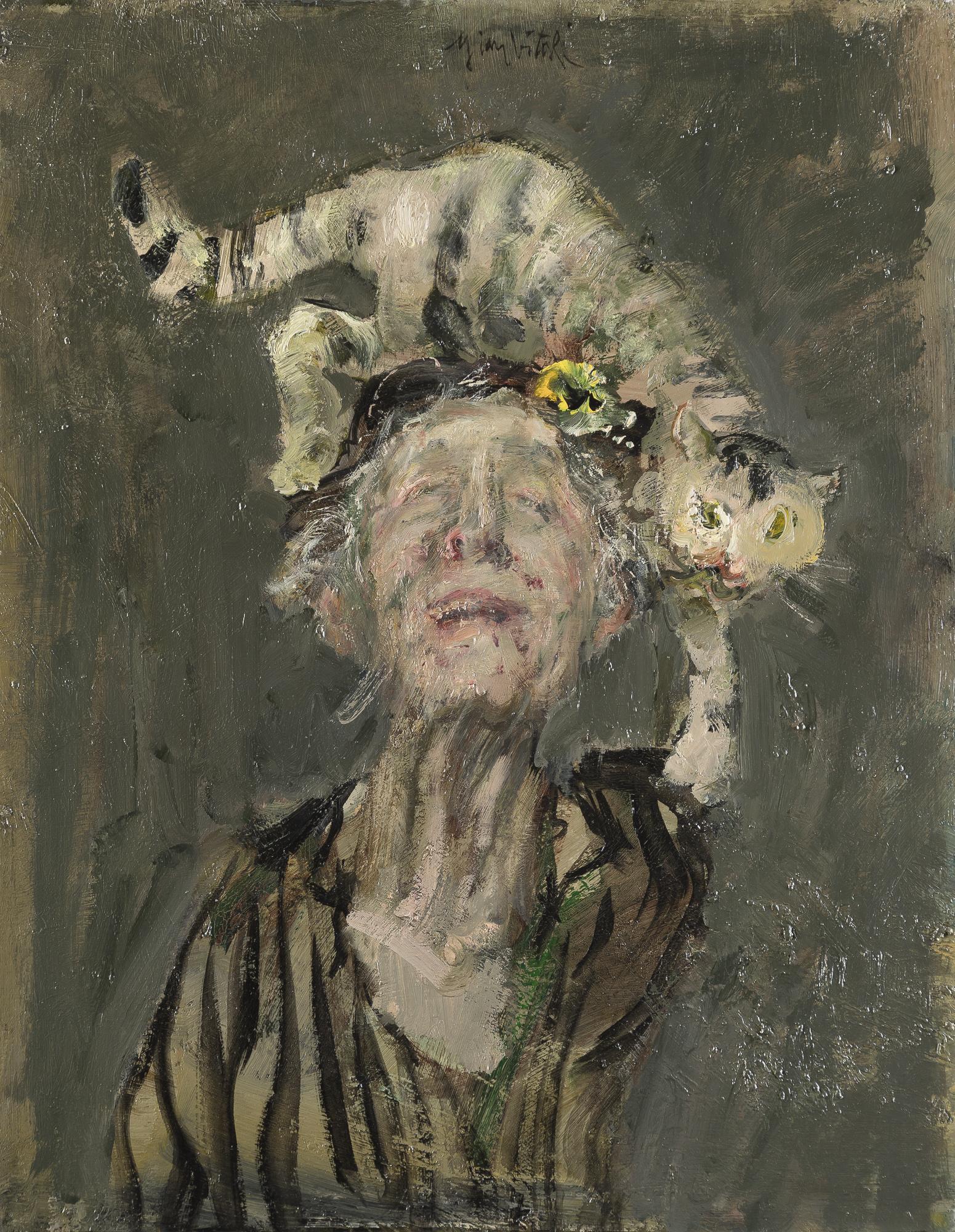 Dama dei gatti, 1985