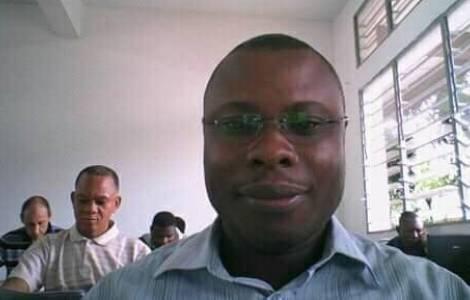 Padre Landry Ibil Ikwel (Agenzia Fides)