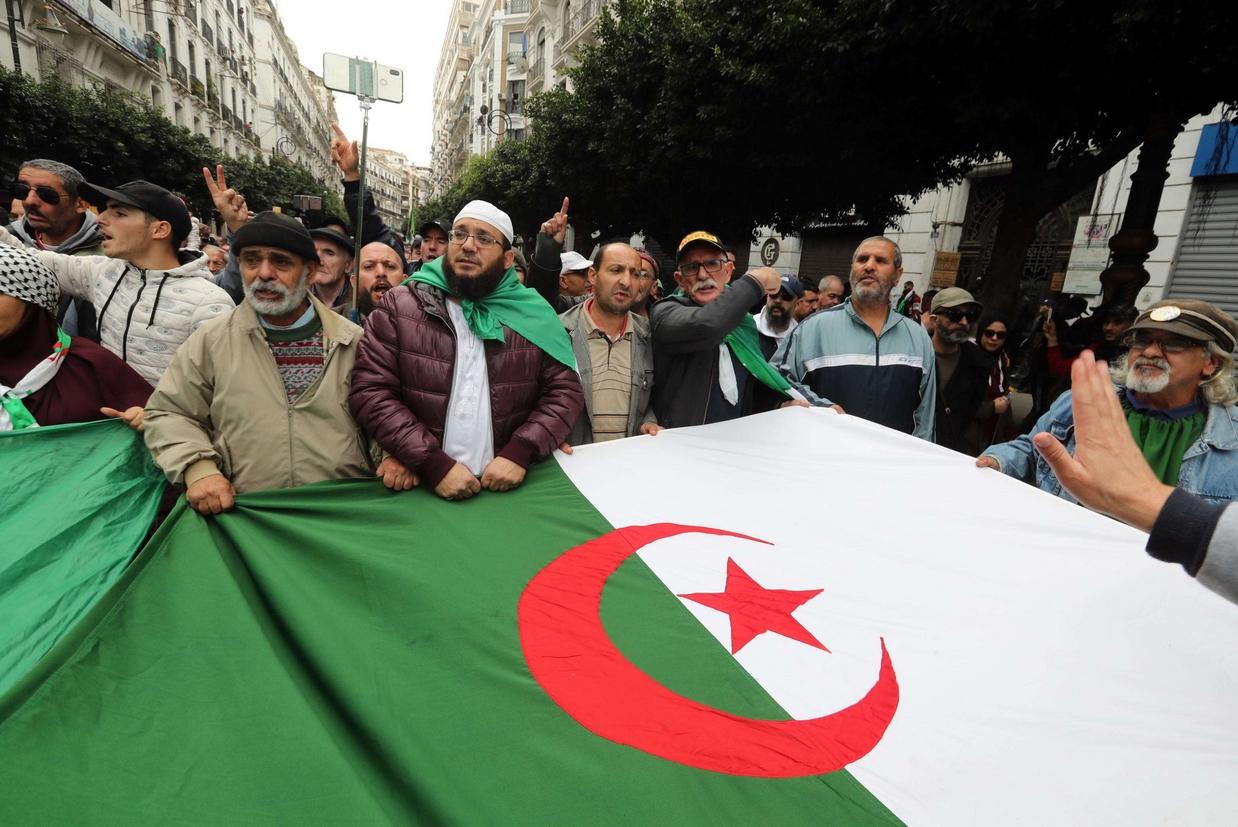 Le manifestazioni di piazza in Algeria