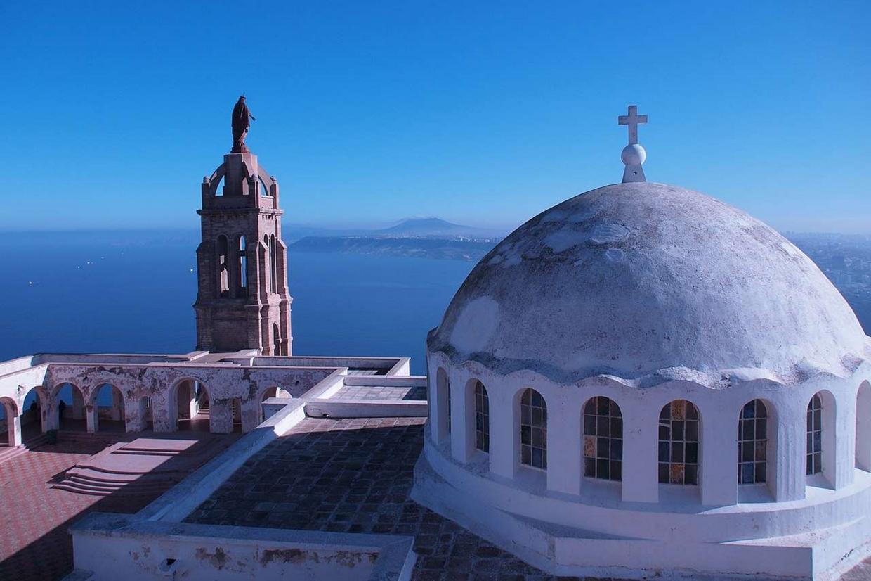 Il santuario di Santa Cruz a Orano in Algeria