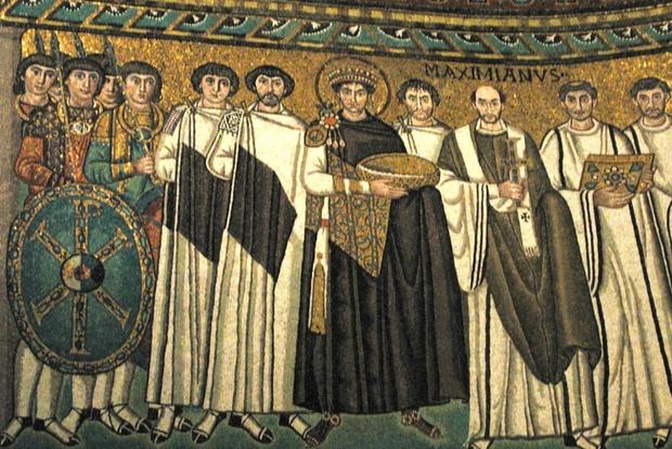 I mosaici nella Basilica di San Vitale, a Ravenna
