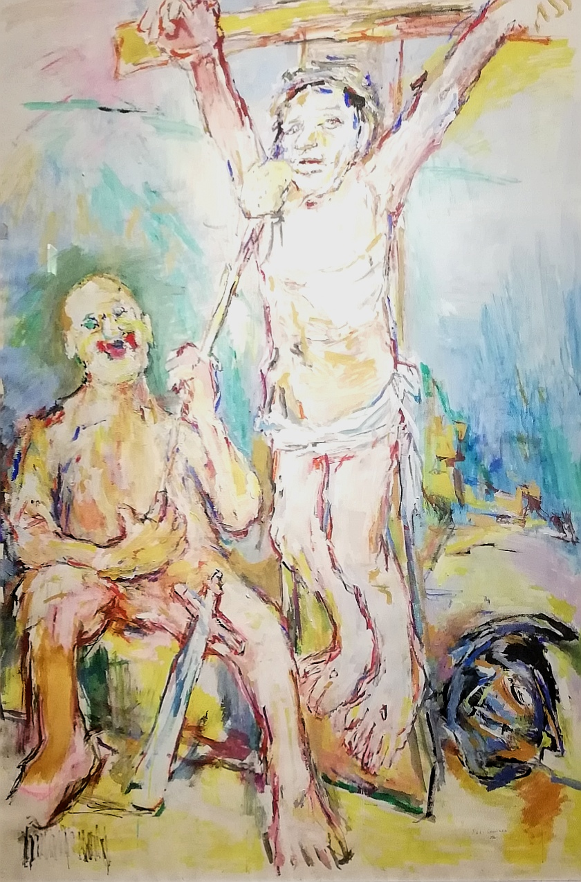 "Oskar Kokoschka, ""Ecce Homines"" (1972)"