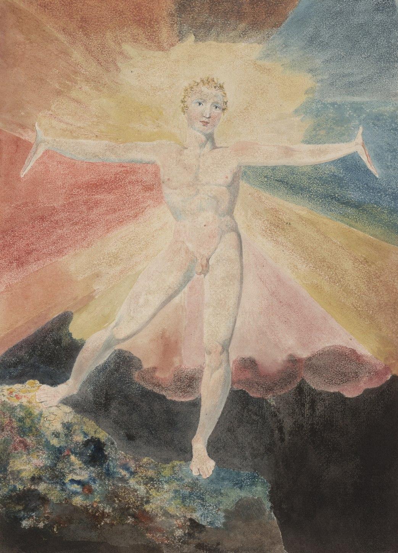 William Blake 'Albion Rose', (1793 ca)