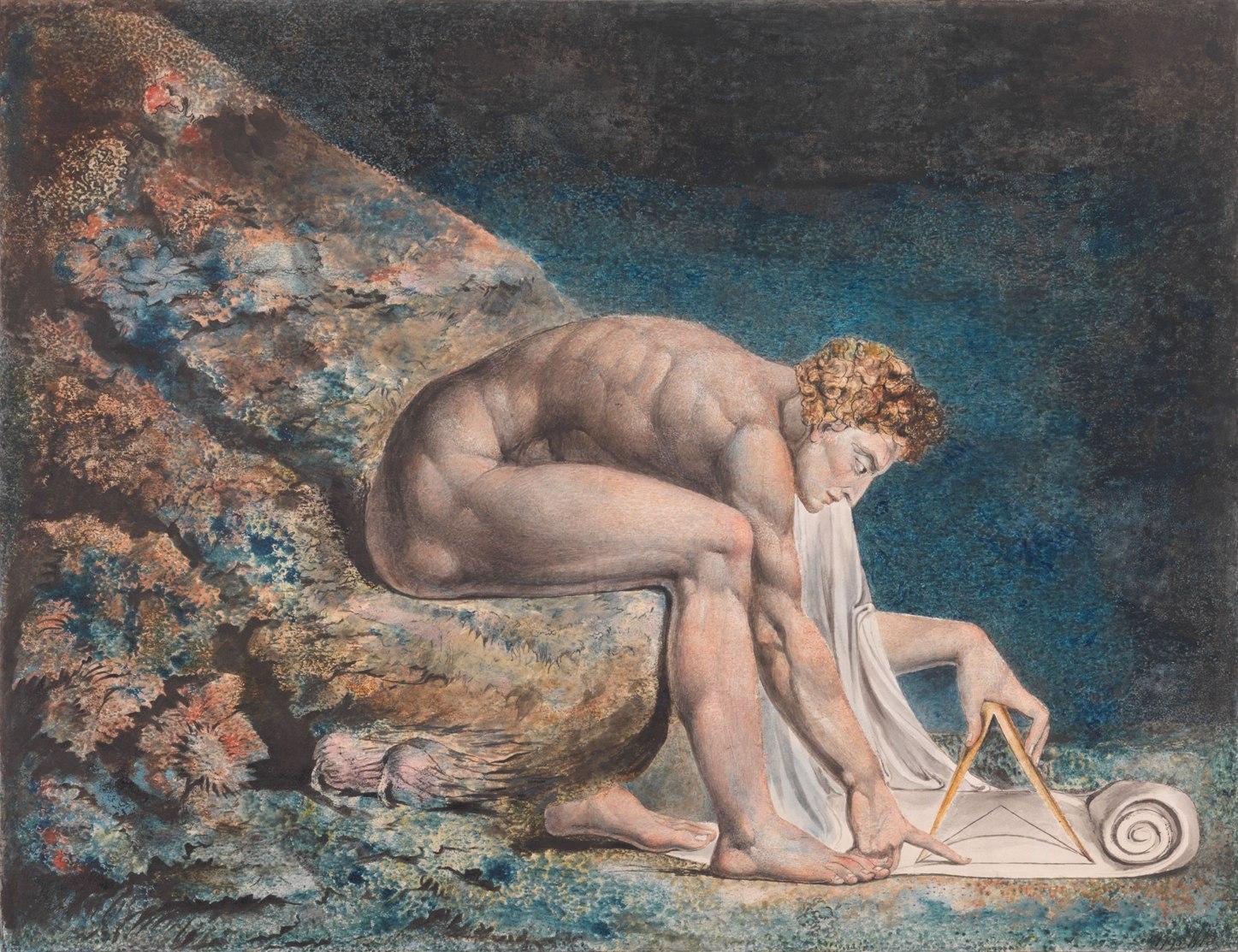 William Blake, 'Newton' (1795-1805 ca)