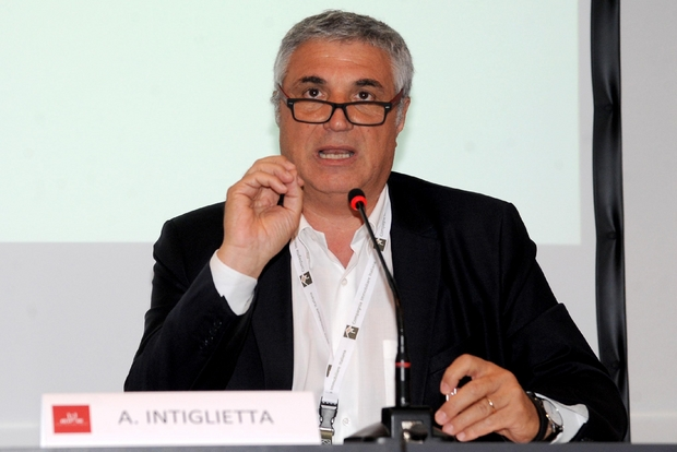 Antonio Intiglietta, presidente di Ge.Fi. e padre dell'Artigiano in Fiera (Ansa)