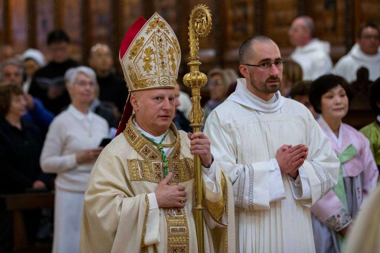 Dom Diego Gualtiero Rosa, abate generale di Monte Oliveto Maggiore