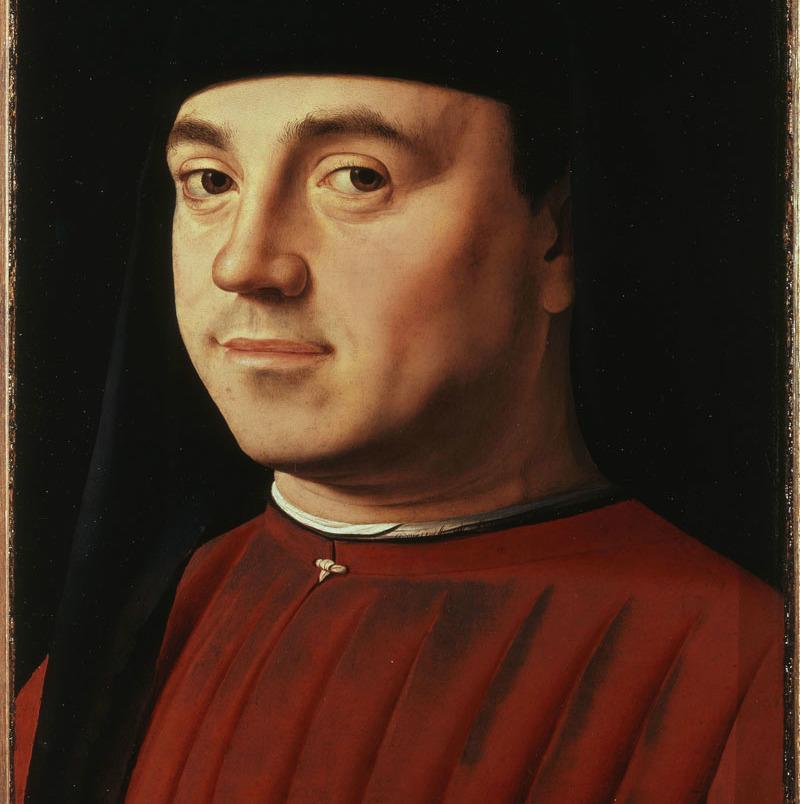 Antonello da Messina, «Ritratto d'uomo» (1475)