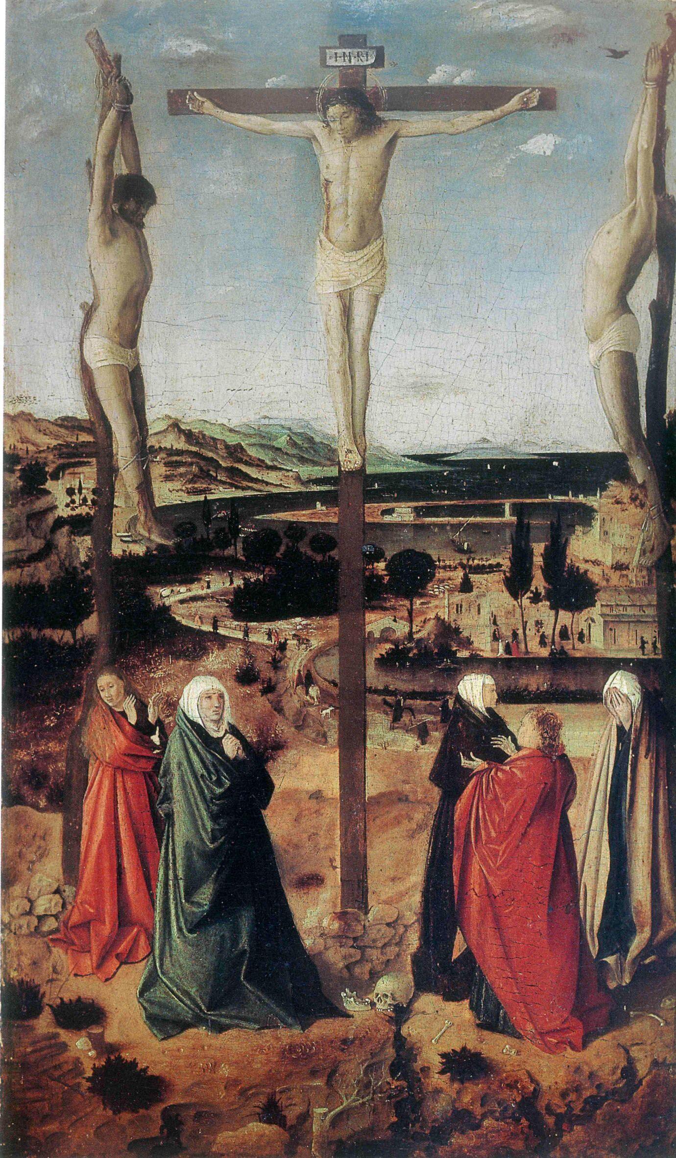 Antonello da Messina, «Crocifissione» (1460 ca.)