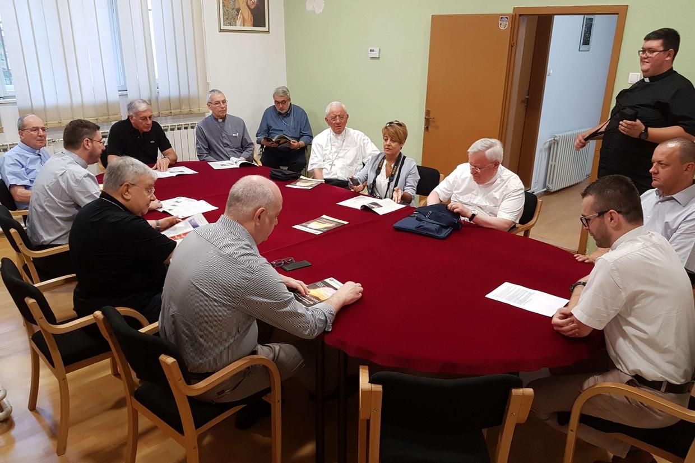 La redazione del settimanale diocesano di Sarajevo, 'Katolicki tjednik'