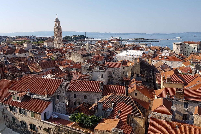 Uno scorcio di Spalato in Croazia