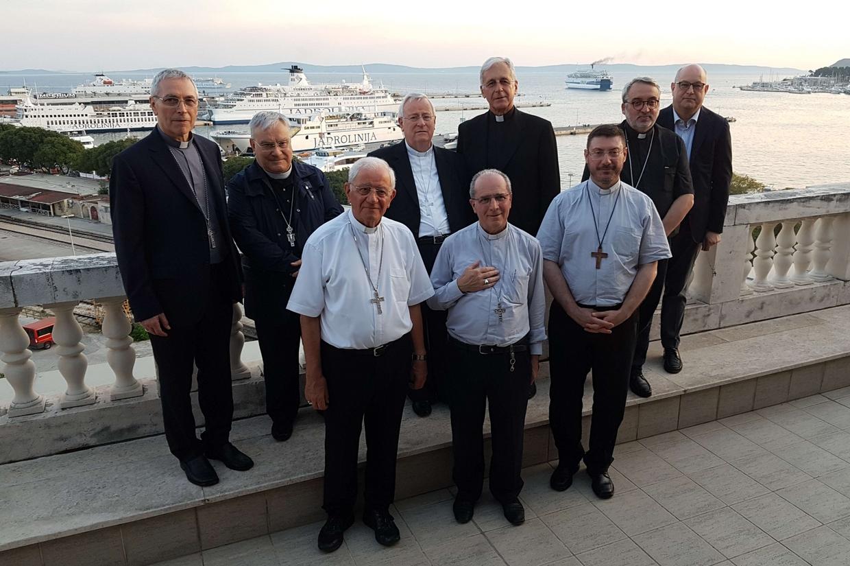 I vescovi dell'Umbria a Spalato in Croazia