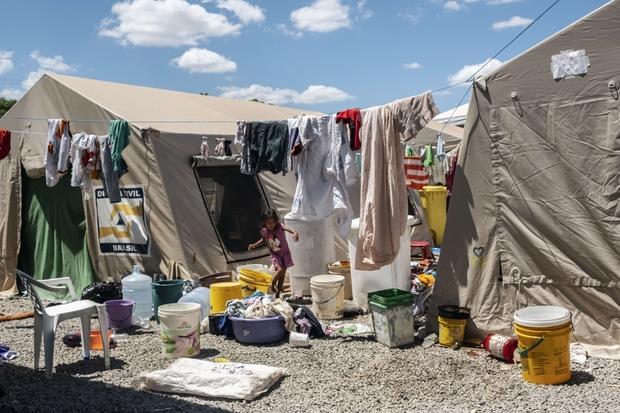 La vita dei migranti venezuelani nei rifugi (Francesco Pistilli 'Avsi)