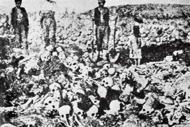 Una immagine del genocidio armeno dall'archivio Ansa