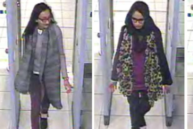 La ragazza londinese insieme alle sue amiche con le quali scappo' di casa per unirsi al Daesh