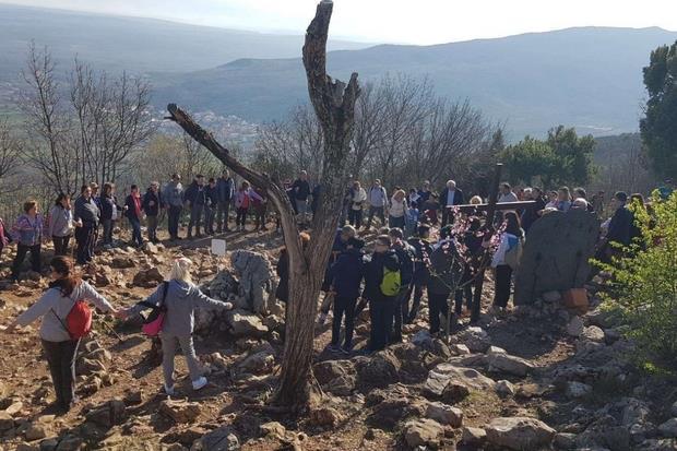Italian pilgrims in Medjugorje