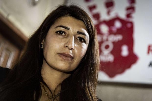 "Shirin Muslim, amministratrice dell'associazione ""Sarah"" a Kobane (Cristian Gennari)"