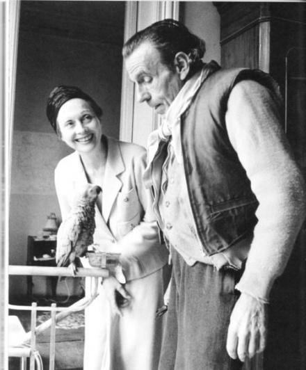 Lucette con Céline a Meudon negli ultimi anni di vita dello scrittore