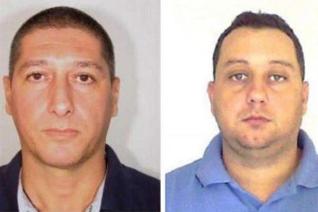 I due sospettati dell'omicidio di Marielle Franco (Ansa)