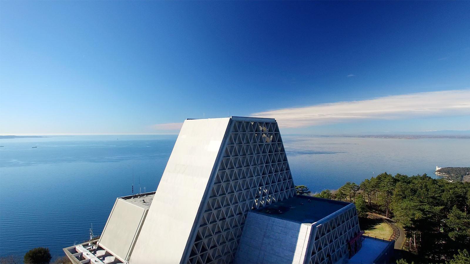 Il santuario di Monte Grisa, a Trieste (www.turismofvg.it)