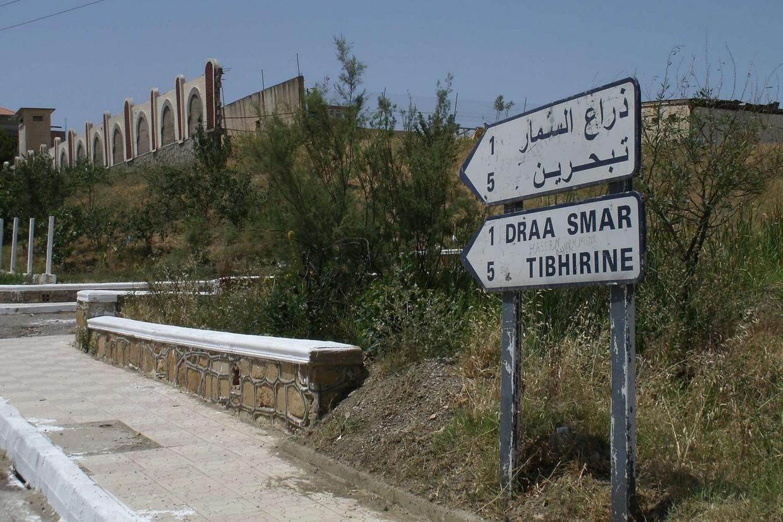 La strada verso il monastero di Tibhirine