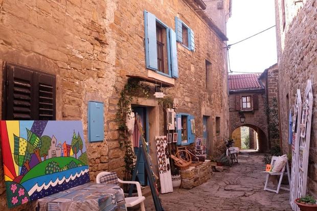 Istria, Grisignana, il paese degli artisti (foto G. Matarazzo)