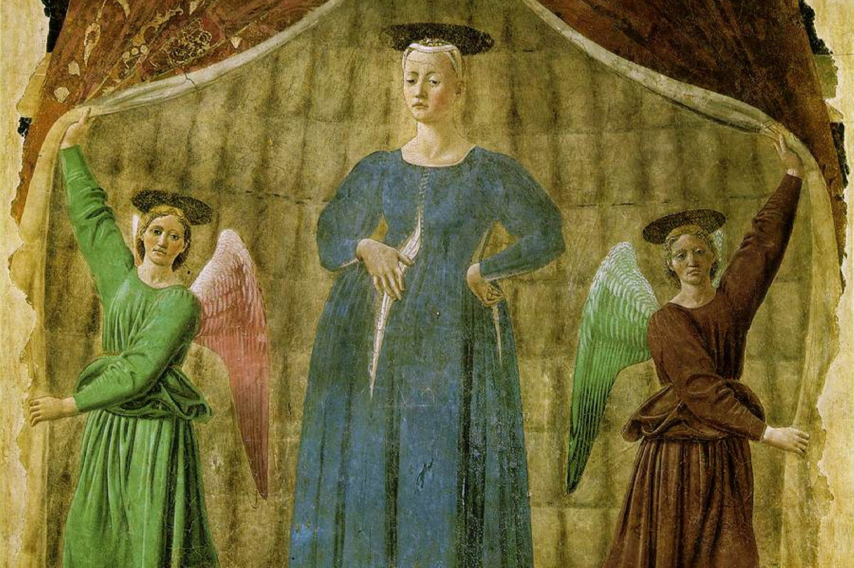 'La Madonna del Parto' di Piero della Francesca ad Anghiari