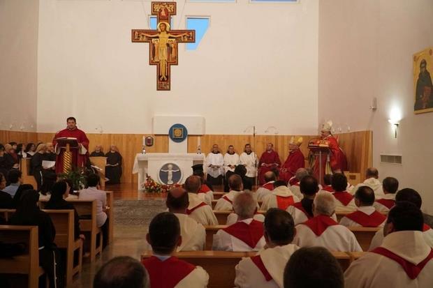 La Messa celebrata il 30 settembre 2019 per l'erezione canonica del monastero 'Santa Chiara' di Scutari
