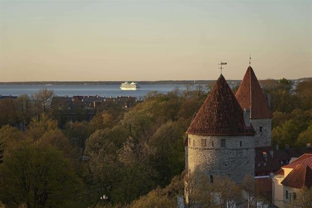 Panorama di Tallin (Ap)