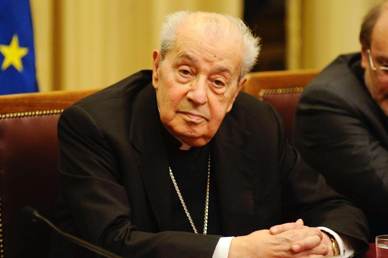Il cardinale Achille Silvestrini (foto Ansa)
