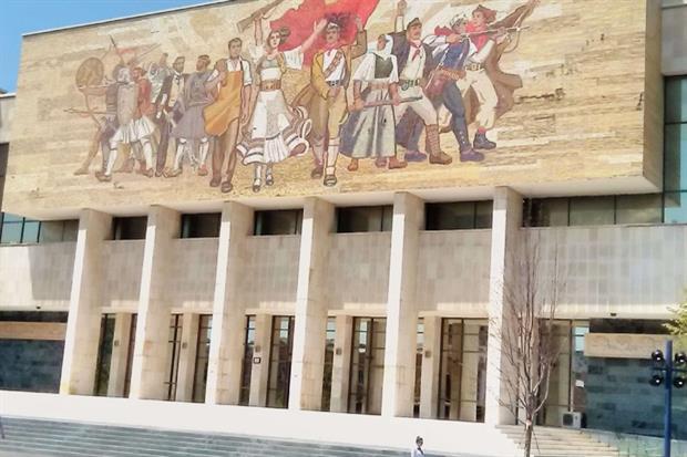 Il Museo storico di Tirana