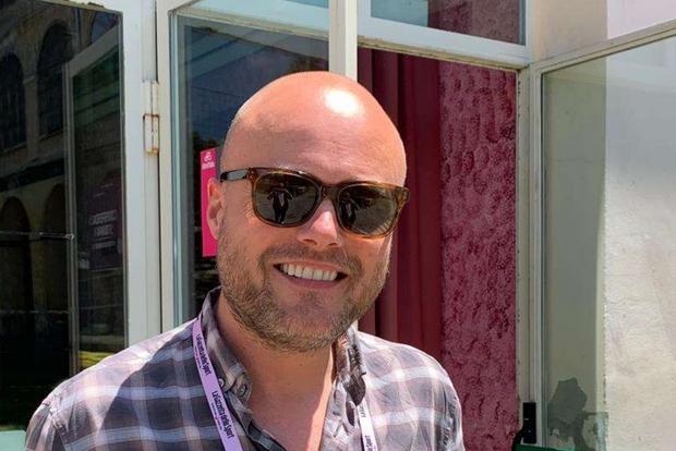 Lo scrittore danese Brian Nygaard