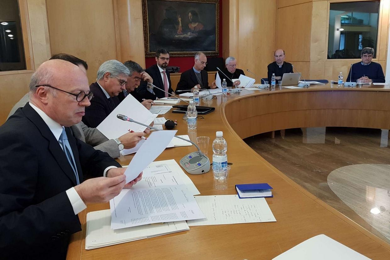 Il comitato organizzatore dell'Incontro Cei sul Mediterraneo