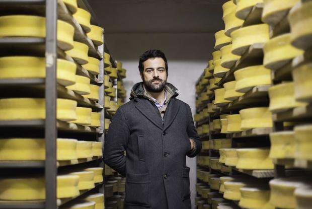 """Francesco Maroni, presidente di """"Forme"""" e direttore della Latteria sociale casearia di Branzi"""