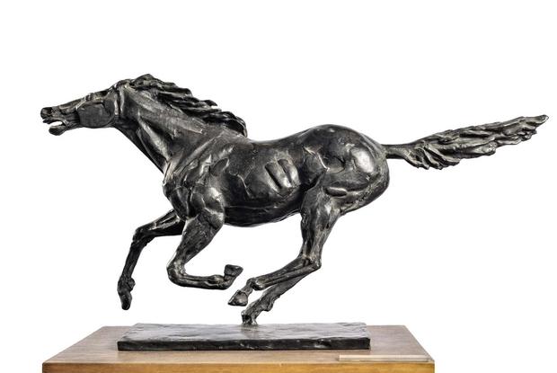 Francesco Messina, 'Cavallo', bronzo, 1958, Studio Museo Francesco Messina, Milano (foto Alessandro Mancuso)