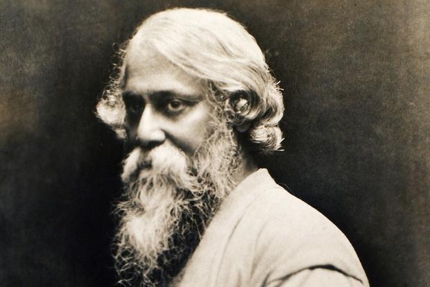 Il poeta bengalese Tagore