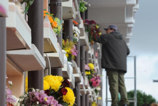 Le visite al cimitero sono più frequenti nel mese di novembre