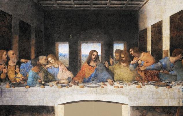 Ultima Cena, Leonardo. Santa Maria delle Grazie, Milano