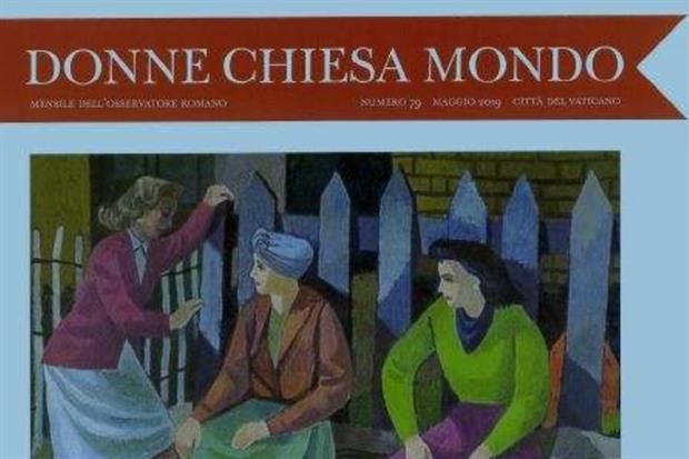 113017675bf8 È uscito a maggio il primo numero di «Donne Chiesa Mondo» realizzato dalla  nuova