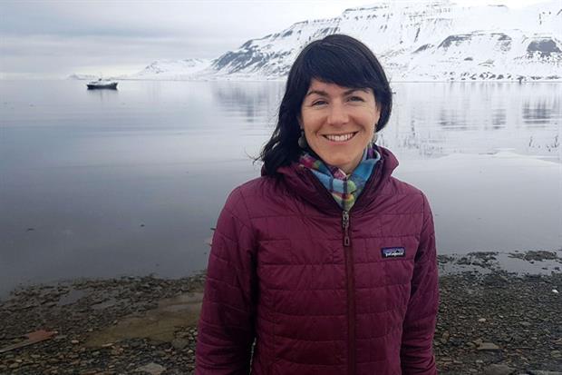 Una delle vittime del disastro aereo, Sarah Auffret (Ansa)