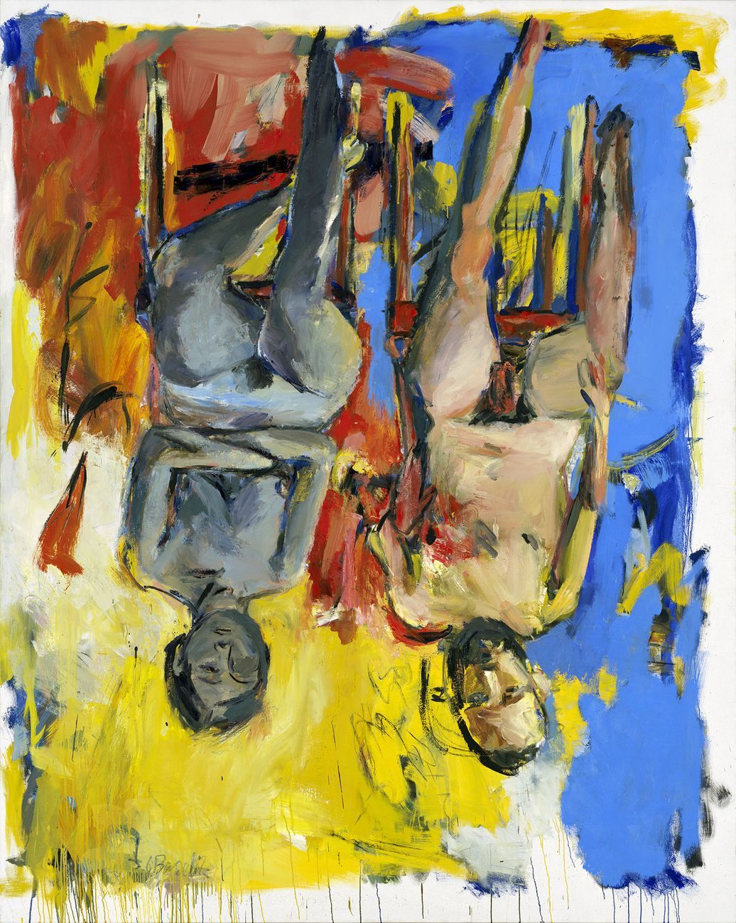 Georg Baselitz, 'Camera da letto' (1975)