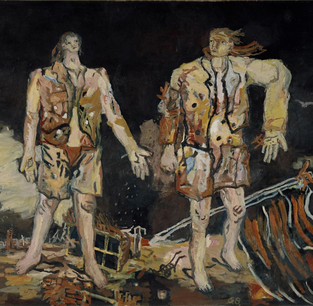 """Georg Baselitz, """"Die grossen Freund"""" (1968)"""