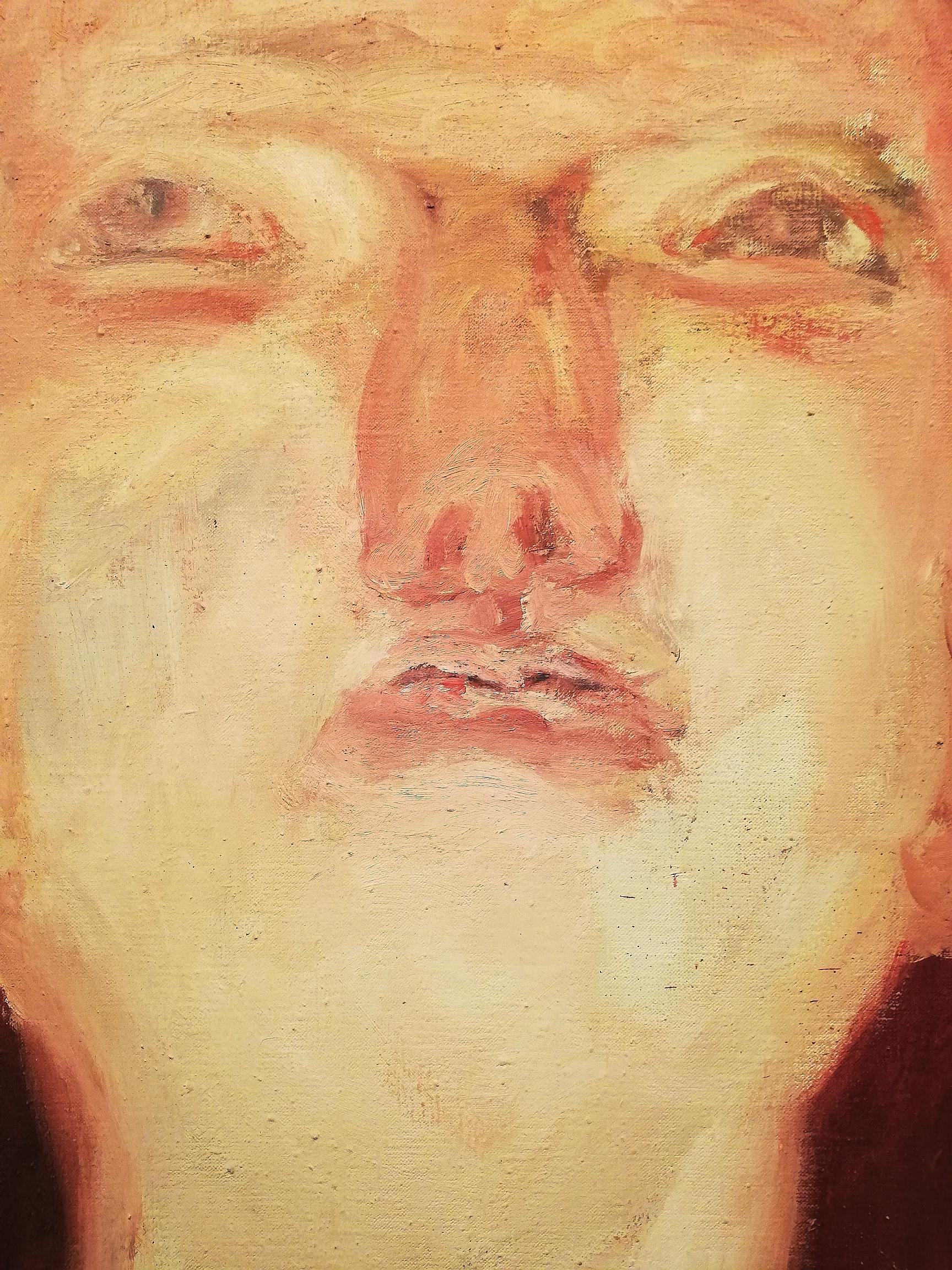 "Georg Baselitz, ""Idol"" (1964, particolare)"